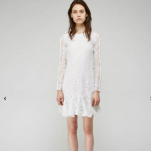 ISABEL MARANT $1800 MAGDA BRODERIE ANGLAISE DRESS